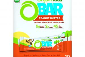 Organic Kids O-Bar - Peanut Butter