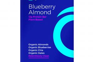 BLUEBERRY ALMOND PLANT BASED PROTEIN BAR