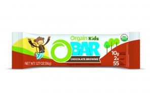 Organic Kids O-Bar - Chocolate Brownie