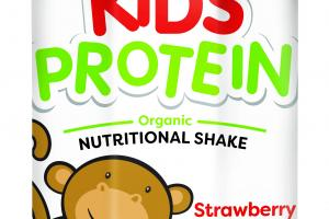 STRAWBERRY FLAVOR ORGANIC NUTRITIONAL SHAKE