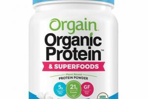 VANILLA BEAN PLANT BASED PROTEIN POWDER & SUPERFOODS