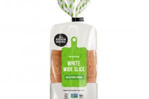 GLUTEN FREE DELICIOUS WHITE WIDE SLICE BREAD