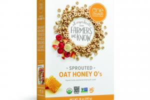 SPROUTED ORGANIC HONEY-SWEETENED WHOLE-GRAIN CEREAL