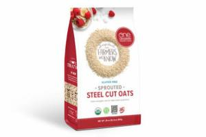 GLUTEN FREE SPROUTED STEEL CUT OATS