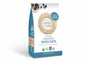 GLUTEN FREE SPROUTED QUICK OATS