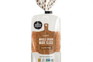GLUTEN FREE WHOLE GRAIN WIDE SLICE BREAD