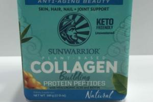 PLANT - BASED COLLAGEN BUILDING PROTEIN PEPTIDES WITH HYALURONIC ACID AND BIOTIN NATURAL DIETARY SUPPLEMENT