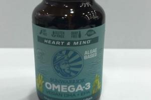 OMEGA-3 DHA + EPA DIETARY SUPPLEMENT VEGAN SOFTGELS