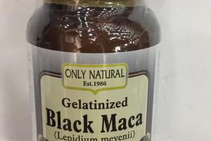 Gelatinized Black Maca (lepidium Meyenii) Dietary Supplement