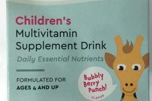 Children's Multivitamin Supplement Drink