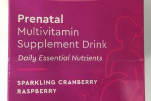 Prenatal Multivitamin Supplement Drink
