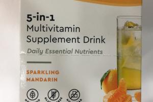 Drink Oxylent Breathe Life Multivitamin Supplement Drink
