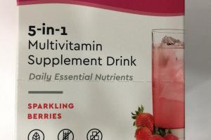 5-in-1 Multivitamin Supplement Drink