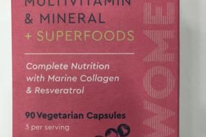 Multivitamin & Mineral + Superfoods Dietary Supplement