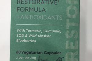 Restorative Formula + Antioxidants Dietary Supplement