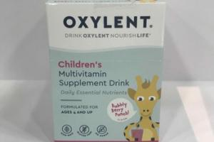 CHILDREN'S DAILY ESSENTIAL NUTRIENTS MULTIVITAMIN SUPPLEMENT DRINK, BUBBLY BERRY PUNCH