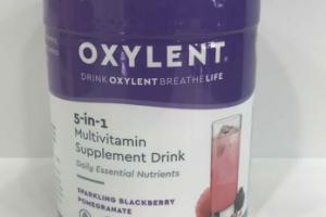 SPARKLING BLACKBERRY POMEGRANATE 5-IN-1 MULTIVITAMIN SUPPLEMENT DRINK