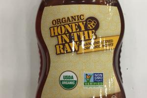 Raw Unfiltered Organic Honey