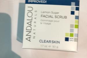 Lemon Sugar Facial Scrub