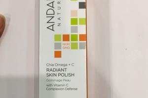 Chia Omega + C Radiant Skin Polish, Brightening