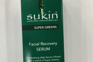 Facial Recovery Serum Super Greens