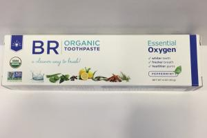 Organic Toothpaste, Peppermint