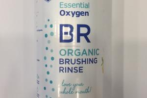 Organic Brushing Rinse, Peppermint