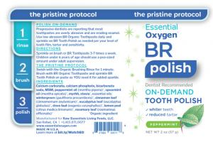 BR ON-DEMAND TOOTH POLISH, PEPPERMINT