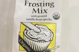 Vanilla Frosting Mix