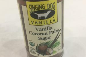Vanilla Coconut Palm Sugar