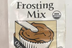 Vanilla Cocoa Frosting Mix
