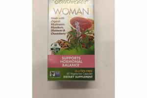 WOMAN SUPPORTS HORMONAL BALANCE DIETARY SUPPLEMENT VEGETARIAN CAPSULES