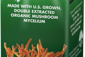ORGANIC MUSHROOMS MYCELIUM ENERGY SUPPORT GLUTEN FREE DIETARY SUPPLEMENT EXTRACT