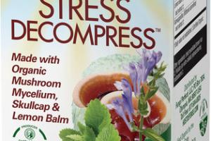 STRESS DECOMPRESS VEGETARIAN CAPSULES DIETARY SUPPLEMENT