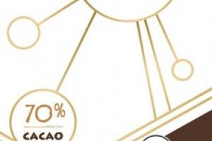 PURELY DARK 70% CACAO PREMIUM CHOCOLATE MADE WITH COCONUT SUGAR
