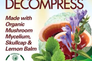 ORGANIC MUSHROOM MYCELIUM, SKULLCAP & LEMON BALM