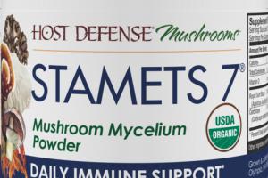 MUSHROOM MYCELIUM POWDER DAILY IMMUNE SUPPORT DIETARY SUPPLEMENT