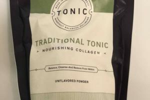 TRADITIONAL TONIC NOURISHING COLLAGEN UNFLAVORED DIETARY SUPPLEMENT POWDER