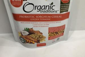 Probiotic Sorghum Cereal