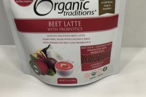 Beet Latte With Probiotics