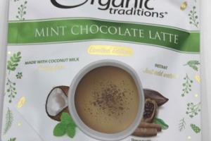 MINT CHOCOLATE LATTE COFFEE