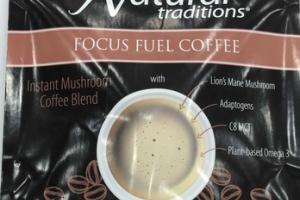 INSTANT MUSHROOM COFFEE BLEND FOCUS FUEL COFFEE