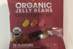 Organic Jelly Beans Flavored With Real Fruit Juices