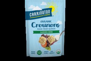 Organic Crounons