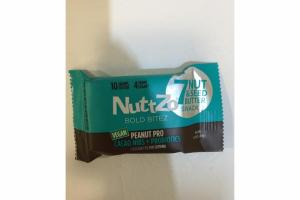 PEANUT PRO CACAO NIBS + PROBIOTICS  7 NUT &  SEED BUTTER SNACK