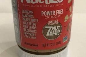 7 NUT & SEED BUTTER PALEO CRUNCHY POWER FUEL THE ORIGINAL MULTI-NUT & SEED BUTTER
