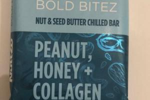 PEANUT, HONEY + COLLAGEN NUT & SEED BUTTER CHILLED BAR
