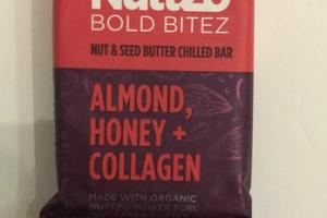 ALMOND, HONEY + COLLAGEN NUT & SEED BUTTER CHILLED BAR