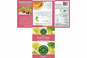 ORGANIC CAFFEINE FREE WOMEN'S WELLNESS MOTHER'S MILK HERBAL SUPPLEMENT TEA BAGS, ORIGINAL WITH FENNEL & FENUGREEK