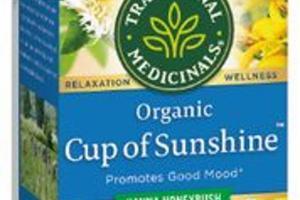 KANNA HONEYBUSH ORGANIC CUP OF SUNSHINE HERBAL SUPPLEMENT TEA BAGS